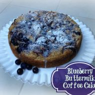 Any Flavor Buttermilk Coffee Cake Recipe–You pick the flavor