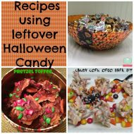 What to make with Leftover Halloween Candy Recipes