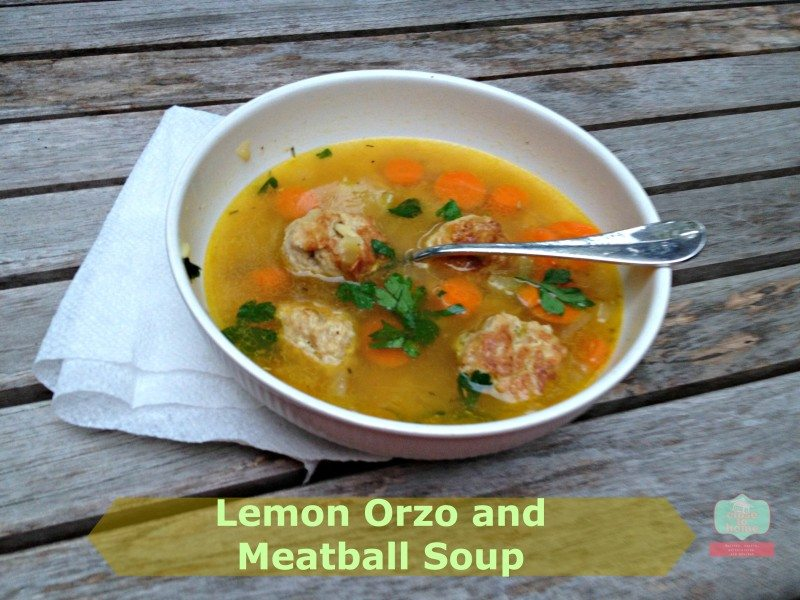 Soups on with Lemon Orzo Meatball Soup Recipes