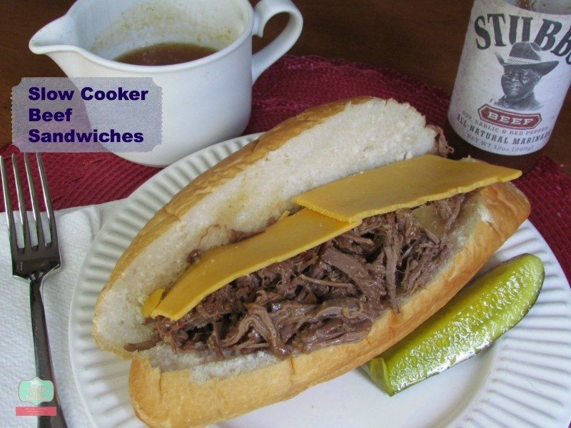 Beef French Dip sandwich recipe