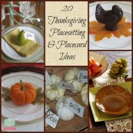 20 Thanksgiving Place Settings and Table Settings Ideas