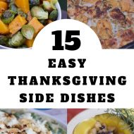 15 Easy Thanksgiving Side Dishes