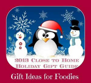 2013 holiday gift guide foodies