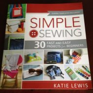 Simple Sewing the perfect book for easy sewing projects.