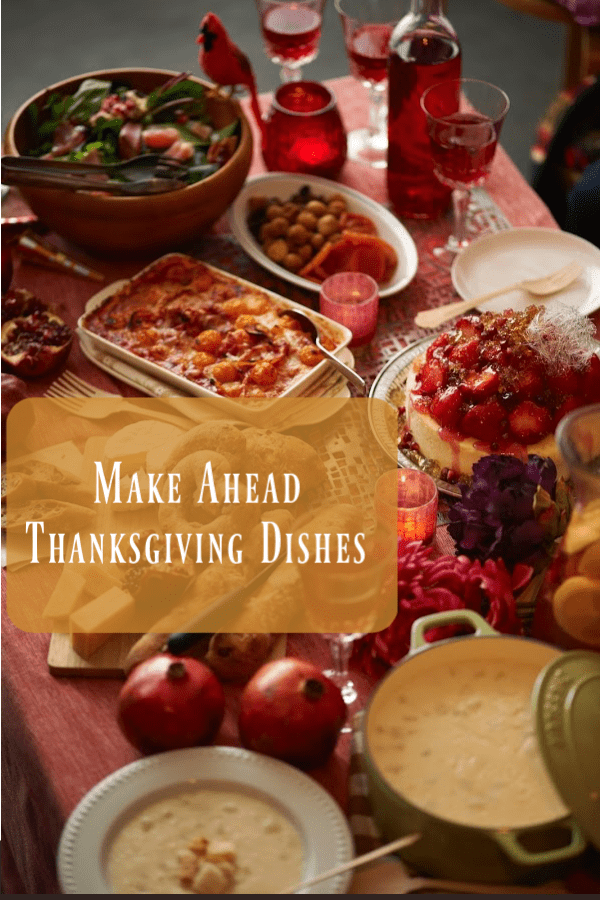 Best Make Ahead Thanksgiving Side Dishes