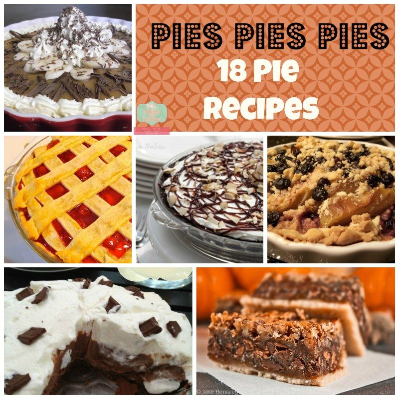 18 Amazing Pie Recipes for Thanksgiving