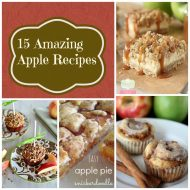Wonderful Apple Recipes from Pinterest