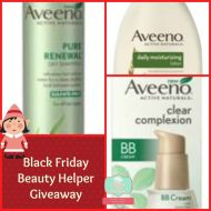Black Friday 2013  #Giveaway & Beauty Tips from AVEENO
