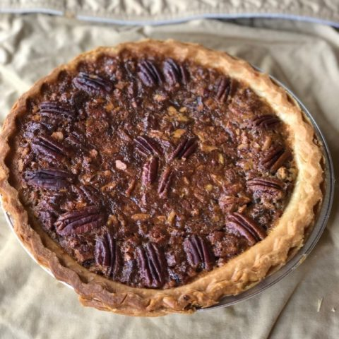 best chocolate bourbon pecan pie