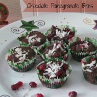 Amazing Chocolate Pomegranate Coconut Bites Recipe