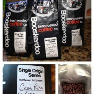 Freshly roasted coffee beans for the coffee lover on your Holiday List
