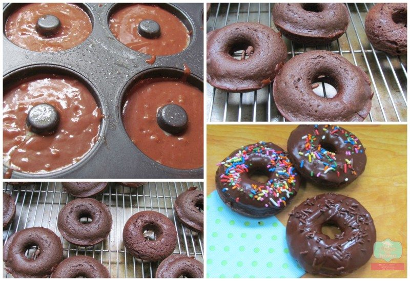 coffeemate donut Double Fudge Baked Donuts