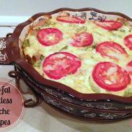 Low Fat Crustless Quiche Recipes