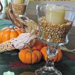 Dollar Store Crafts: DIY Glass Candle Holders