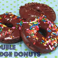 Double Fudge Baked Donuts or Doughnuts Recipe  #giveaway  #CMcantwaitCGC