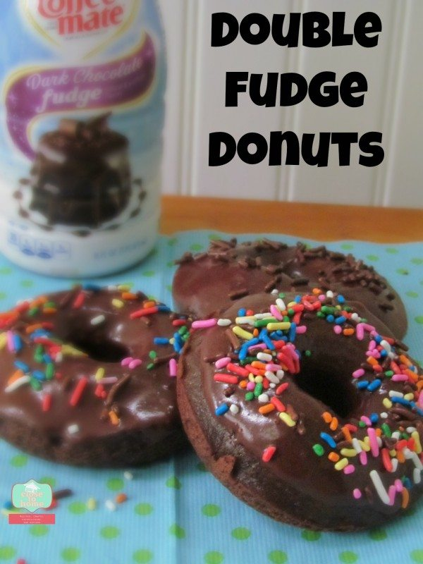 Double Fudge Baked Donuts
