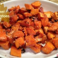 Sea Salt Sweet Potatoes Recipe