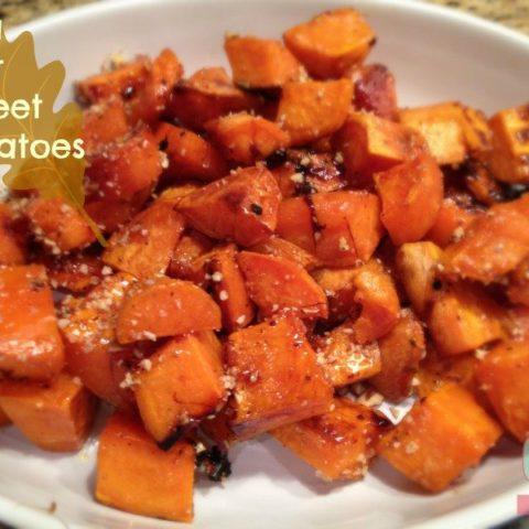Sea Salt Sweet Potatoes Recipe