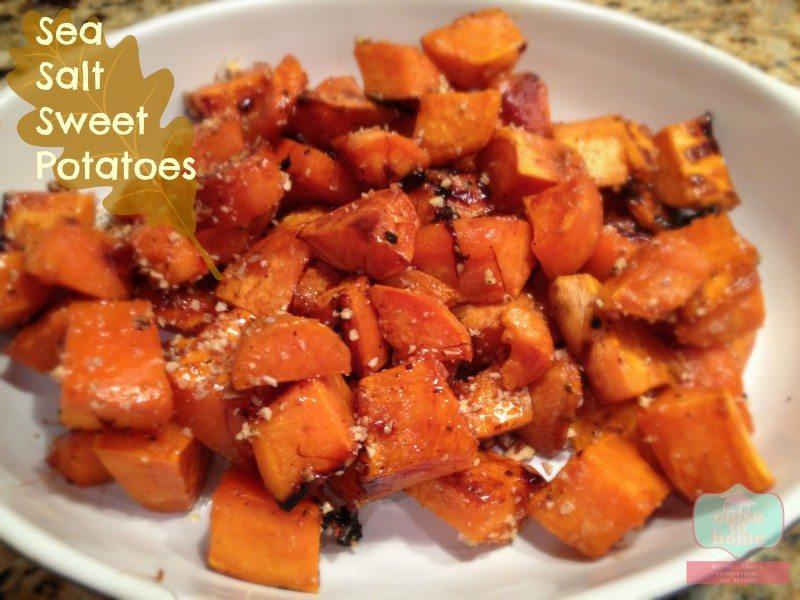 sea salt sweet potatoes