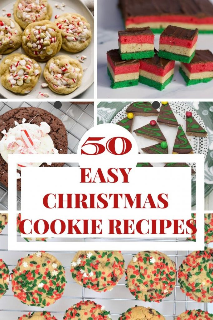 50 Easy Christmas Cookie Recipes