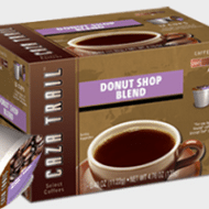 Fill your stockings with Free Samples of Caza Trail Donut Shop Single Serve Coffee #MC