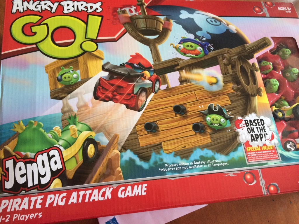 angry birds giveaway