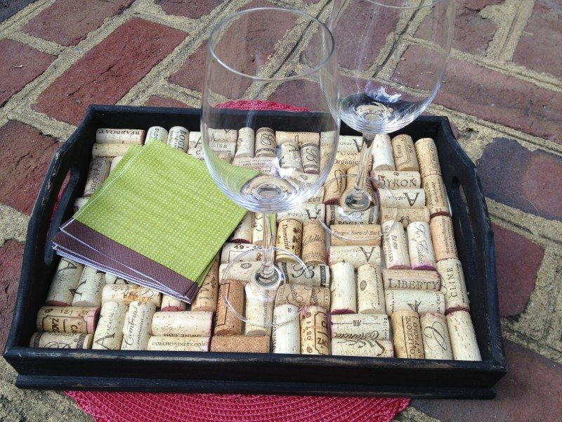 How To Make A Diy Wine Cork Tray Easy Tutorial