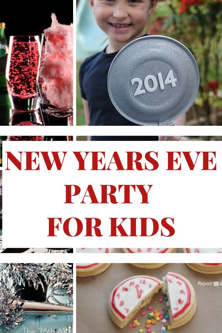 NEW YEARS eve party for kids Ideas