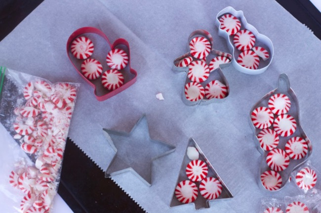 Kid Friendly Christmas Crafts Using Peppermint Candy