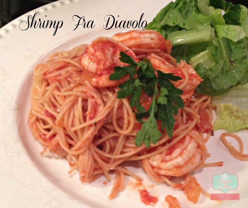 Spicy Shrimp Barilla Pasta