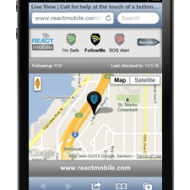 Mobile Safety Apps– React Mobile great for tweens and teens phones