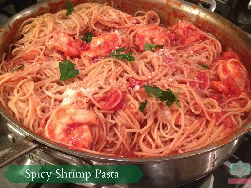 Perfectly Spicy Shrimp Pasta Recipe