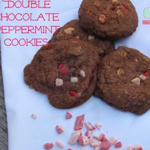 Double Chocolate Peppermint Pudding Cookies Recipe