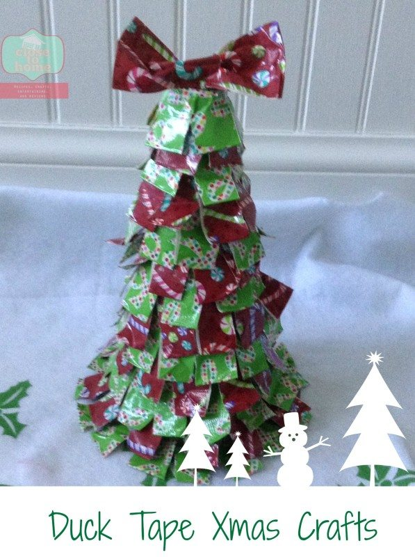 duck tape crafts tree