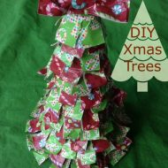 DIY Christmas trees Holiday Duck Tape Crafts