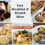Make ahead Breakfast Ideas & Easy Christmas breakfast ideas