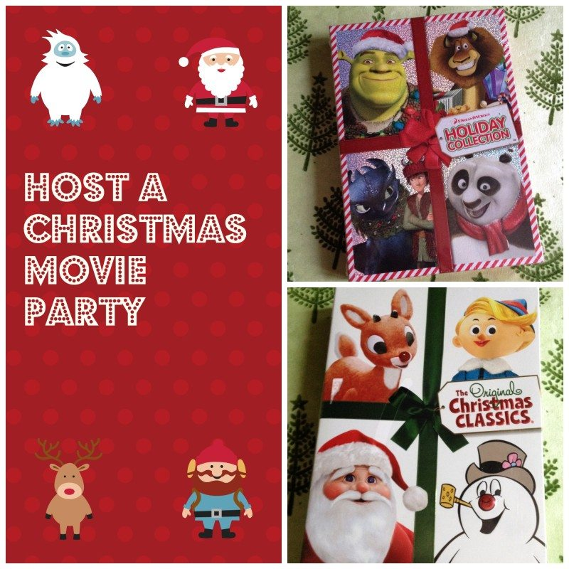 How to host a Christmas Movies Party