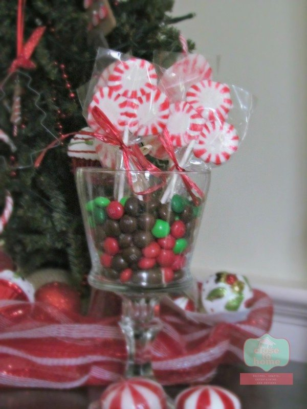 Christmas Crafts Using Peppermint Candy peppermint lollipops 2