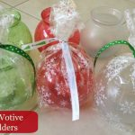 Fun DIY Party Favors or Holiday Decor  (Votive Holders)