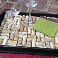 How to Make a DIY Wine Cork Tray