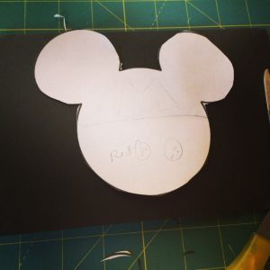 Mickey ears invitations