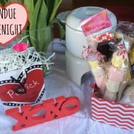 Valentine's Day Fondue Date Night Necessities #KYDatenight #cbias #ad
