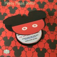 Disney or Mickey Mouse Invitations using XYRON Creative  Station
