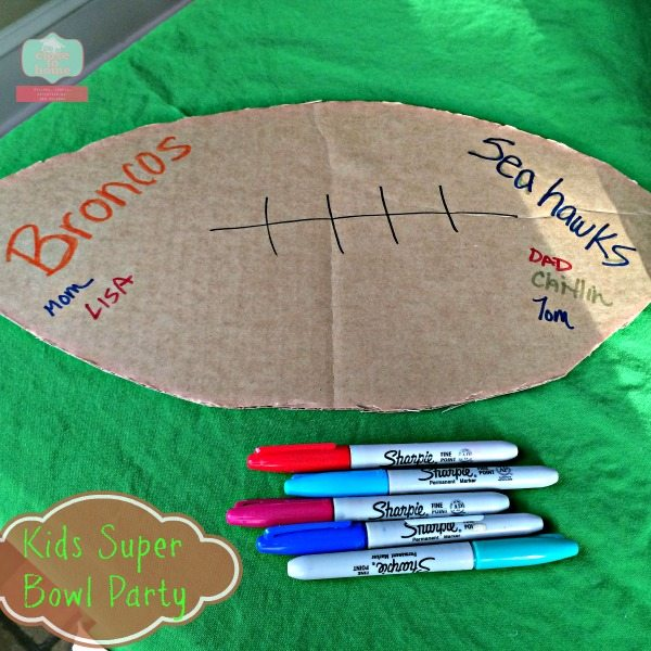 #RubbermaidSharpie #ad super bowl party