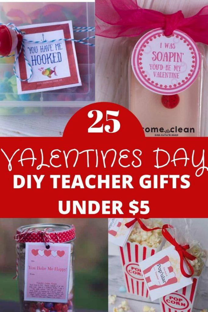 Teacher Valentines Day Gifts under $5
