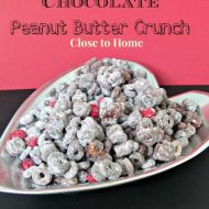 Double Chocolate Peanut Butter Cereal Mix–or  Mickey Ears