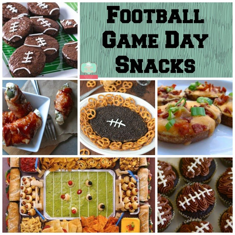 Amazing Super Bowl Football Themed Recipes Round up