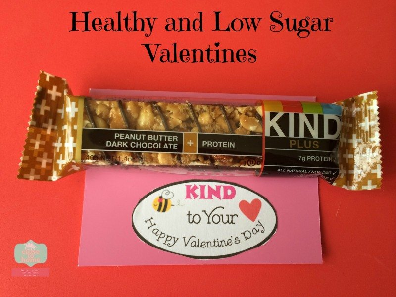 low sugar valentines