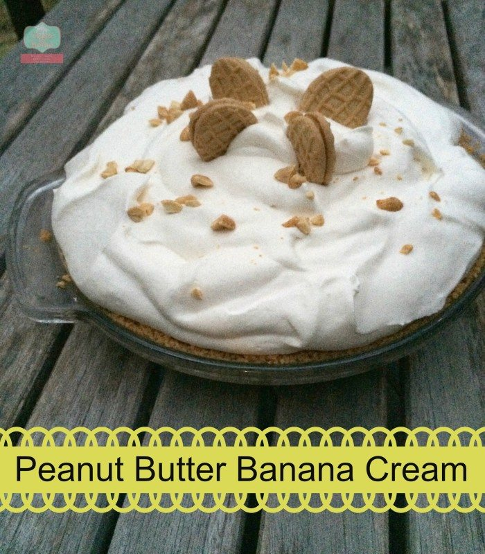 peanut butter banana cream pie 1