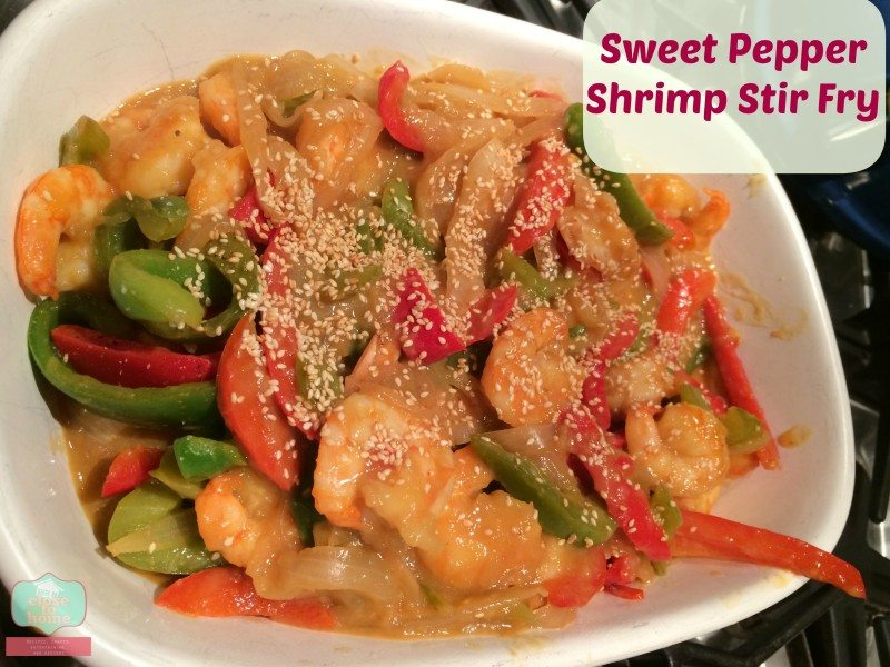 Easy Dinner : Sweet Pepper & Shrimp Stir Fry Recipes